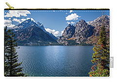 Carry-all Pouch featuring the photograph Jenny Lake by Scott Read