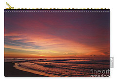 Jersey Shore Sunrise Carry-all Pouch