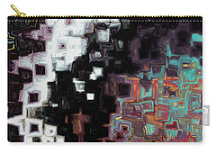Carry-all Pouch featuring the painting Jesus Christ, The Alpha And Omega-  Revelation 1 8 by Mark Lawrence