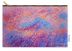Carry-all Pouch featuring the painting Jesus Christ, The Prince Of Peace- Isaiah 9 6 by Mark Lawrence