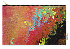 Carry-all Pouch featuring the painting Jesus Christ, The Truth. John 1 14 by Mark Lawrence