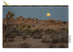 Joshua Tree And Moon Carry-all Pouch