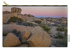 Joshua Tree On The Rocks Carry-all Pouch