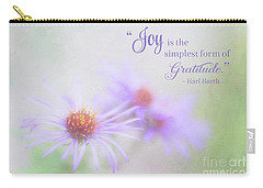 Joy And Gratitude For All Seasons Carry-all Pouch