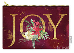 Joy Holiday Art  Carry-all Pouch