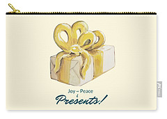 Joy, Peace And Presents Carry-all Pouch