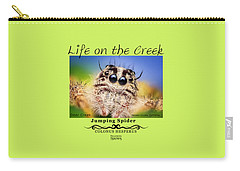 Jumping Spider Colonus Hesperus Carry-all Pouch