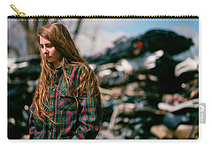 Carry-all Pouch featuring the photograph Junk by Carl Young