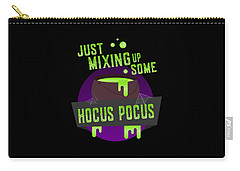 Just Mixing Some Hocus Pocus Halloween Witch Carry-all Pouch