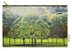 Carry-all Pouch featuring the photograph Just Trees by Leigh Kemp