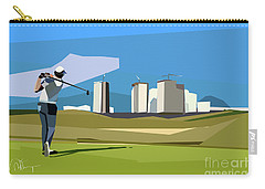 Justin Rose In Rio  Carry-all Pouch