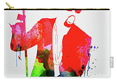 Kanye Watercolor Carry-all Pouch