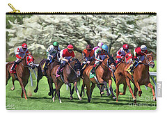 Keeneland Down The Stretch Carry-all Pouch