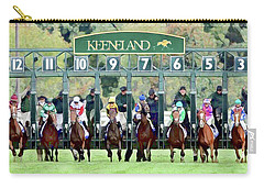 Keeneland Starting Gate Carry-all Pouch