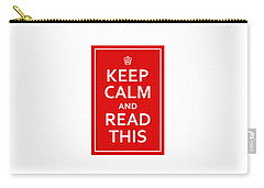 Keep Calm - Read This Carry-all Pouch