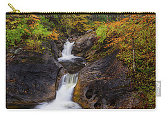Carry-all Pouch featuring the photograph Kent Falls Foliage 2 by Bill Wakeley