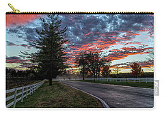 Carry-all Pouch featuring the photograph Keswick Sunset by Lori Coleman