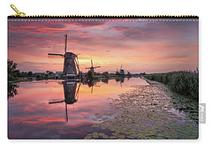 Kinderdijk Sunset Carry-all Pouch