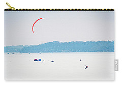 Kite Skiing - Madison - Wisconsin Carry-all Pouch