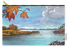 Kites, Clouds And Sailboats Carry-all Pouch