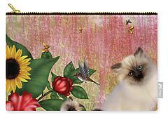 Kittens Garden Carry-all Pouch