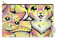 Kolorful Kitties Carry-all Pouch