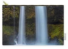 Carry-all Pouch featuring the photograph Koosha Falls In Fall by Matthew Irvin