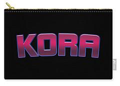 Kora Carry-All Pouches