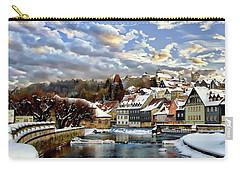 Kronach Winter Scene Carry-all Pouch