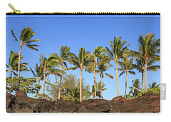 Golden Palms Carry-all Pouch