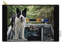 Carry-all Pouch featuring the photograph Kuma by Brad Allen Fine Art