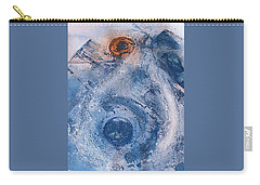 Carry-all Pouch featuring the painting  La Donna Del Lago by 'REA' Gallery