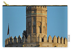 La Torre De Oro Detail. Seville Carry-all Pouch