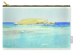 La Tortue, St Barthelemy, 1996_4179, 122x74 Cm, 6,86 Mb Carry-all Pouch