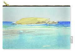 La Tortue, St Barthelemy, 1996_4179 Clean Cropped, 102x58 Cm, 6,86 Mb Carry-all Pouch