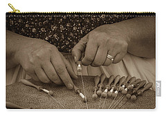 Carry-all Pouch featuring the photograph Lacemaker 1364 by Guy Whiteley