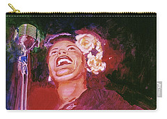 Lady Day - Billie Holliday Carry-all Pouch
