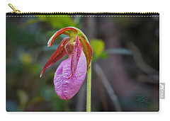 Lady Slipper Orchid Carry-all Pouch