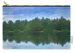 Lake And Trees Carry-all Pouch