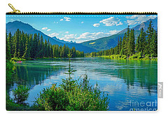 Lake At Banff Indian Trading Post Carry-all Pouch
