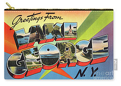 Lake George Greetings Carry-all Pouch