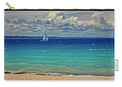 Lake Huron Sailboat Carry-all Pouch