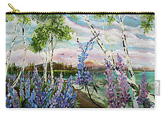 Lakeside Lupin Carry-all Pouch