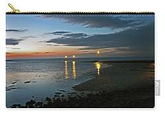 Lancashire. Knott End. Sunset.. Carry-all Pouch