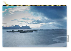 Landscape In The Lofoten Islands Carry-all Pouch