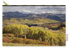 Carry-all Pouch featuring the photograph Last Dollar Road by James BO Insogna