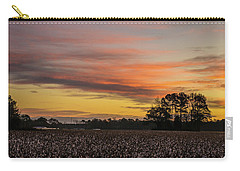 Late Fall In The Cotton Field Carry-all Pouch
