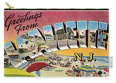 Lavallette Greetings Carry-all Pouch