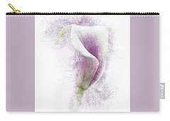 Lavender Calla Lily Flower Carry-all Pouch