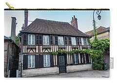 Carry-all Pouch featuring the photograph Le Vieux Logis D'acquigny by Randy Scherkenbach